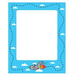 Jet frame vector image