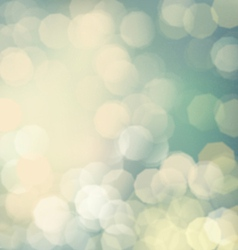 Classic bokeh background vector
