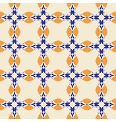 Geometric ornament seamless pattern textile vector