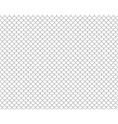 Fish scales seamless horizontal background vector