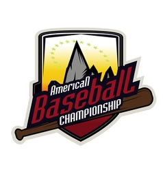 Baseball tournament professional logo vector