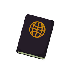 document passport travel vector image