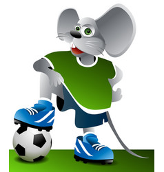 Football mouse vector
