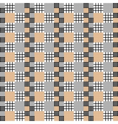 Design seamless vertical checked pattern vector