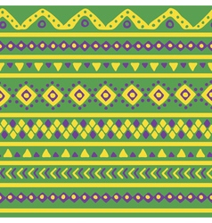 Green mexican pattern vector