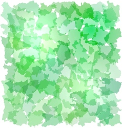Abstract green backgrouns with French departments vector image vector image