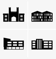 University buildings vector