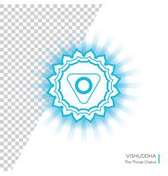 Vishuddha - energy center chakra vector