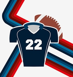American football design vector