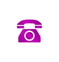 Icon of a phone vector