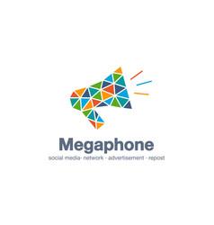 abstract business company logo digital market vector image vector image