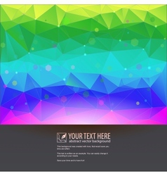 Beautiful tech background for your design vector image vector image
