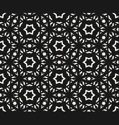 delicate seamless pattern elegant geometric stars vector image