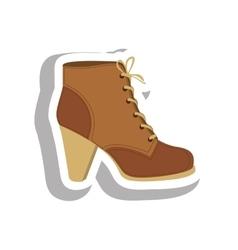 shoe icon image vector image