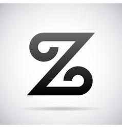 Logo for letter z design template vector