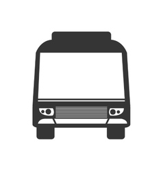 Bus vehicle transport service theme design vector