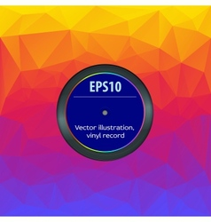 Envelope vinyl record editable vector