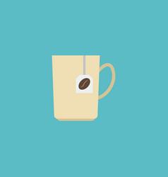flat icon coffee capsule element vector image