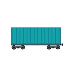 Freight Car Icon vector image