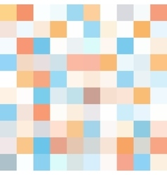 Geometric background with squares Random colors vector image