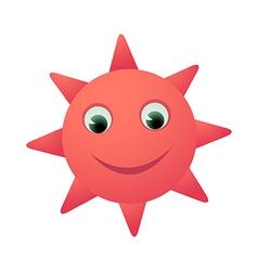 Icon sun vector
