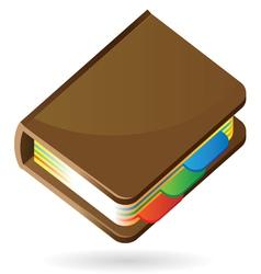 Isometric icon of organizer vector image