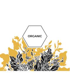 Template organic 1 vector