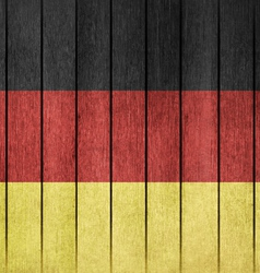 Grunge flag of germany vector