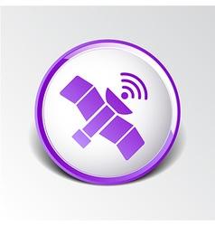 Icon satellite design element communication vector