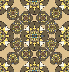 Abstract vintage seamless pattern for background vector image vector image