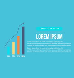 Business infographic graphic style collection vector