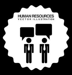 Human resources design vector