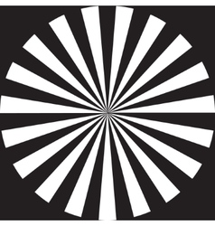 rays flat design vector image vector image