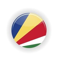 Seychelles icon circle vector