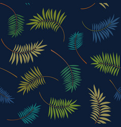 tropical colorful seamless pattern vector image vector image