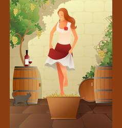 Wine festival vector