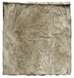 Wrinkled old vintage paper vector