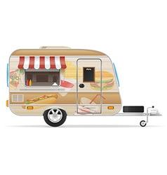 trailer food 01 vector image