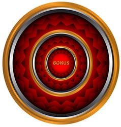 Bonus icon vector image vector image