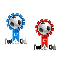 Football club emblem vector