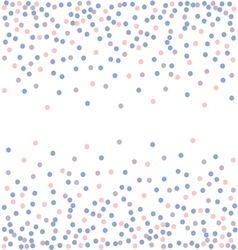 Rose quartz and serenity confetti backdrop vector