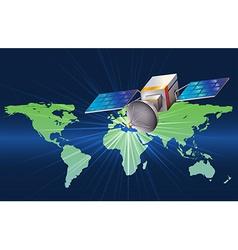A satellite vector
