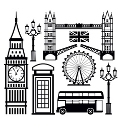London icon vector