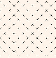 minimalist seamless pattern with thin lines small vector image