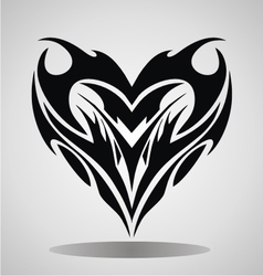 Tribal heart vector