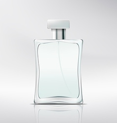 Bottle of perfume vector