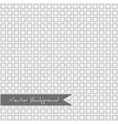 geometric background of squares and circles vector image vector image