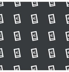 Straight black euro screen pattern vector