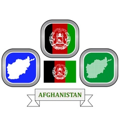Symbol of afghanistan vector