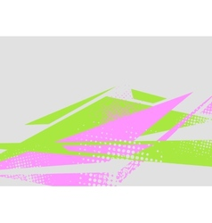 Abstract flat minimal bright tech background vector
